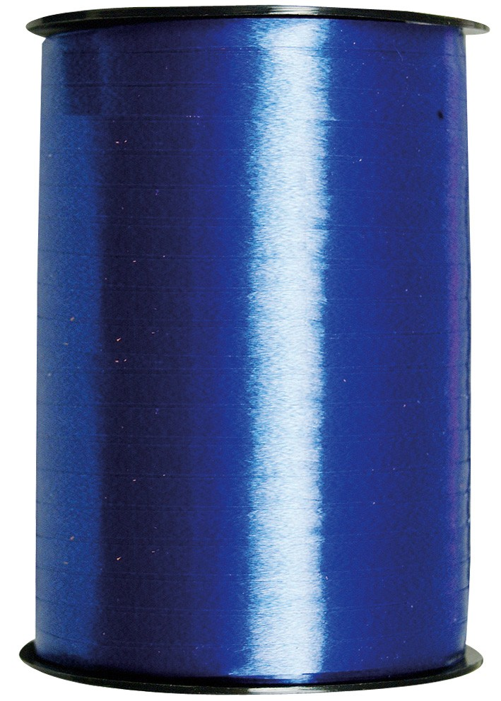 Geschenkband Poly - blau