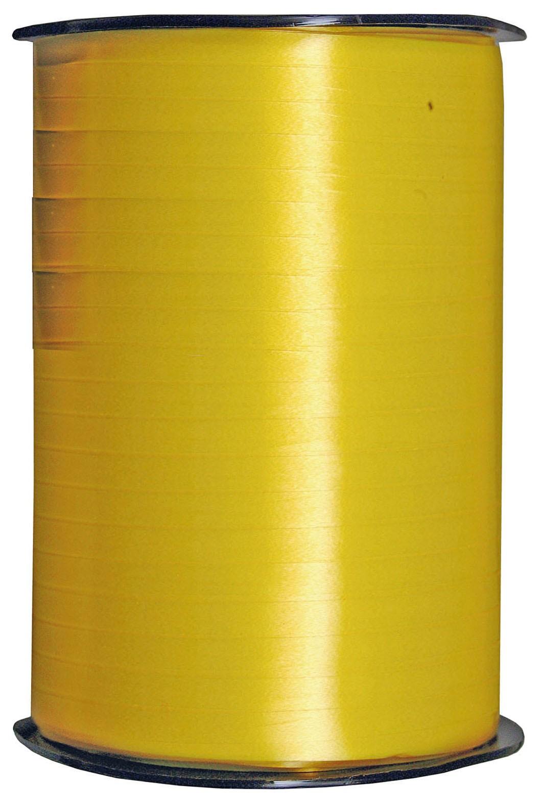 Geschenkband Poly - gelb