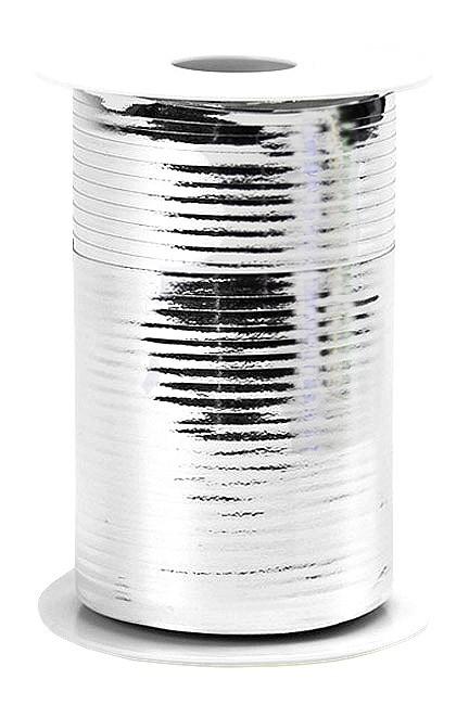 Geschenkband Metallic - silber