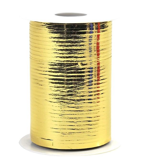 Geschenkband Metallic - gold