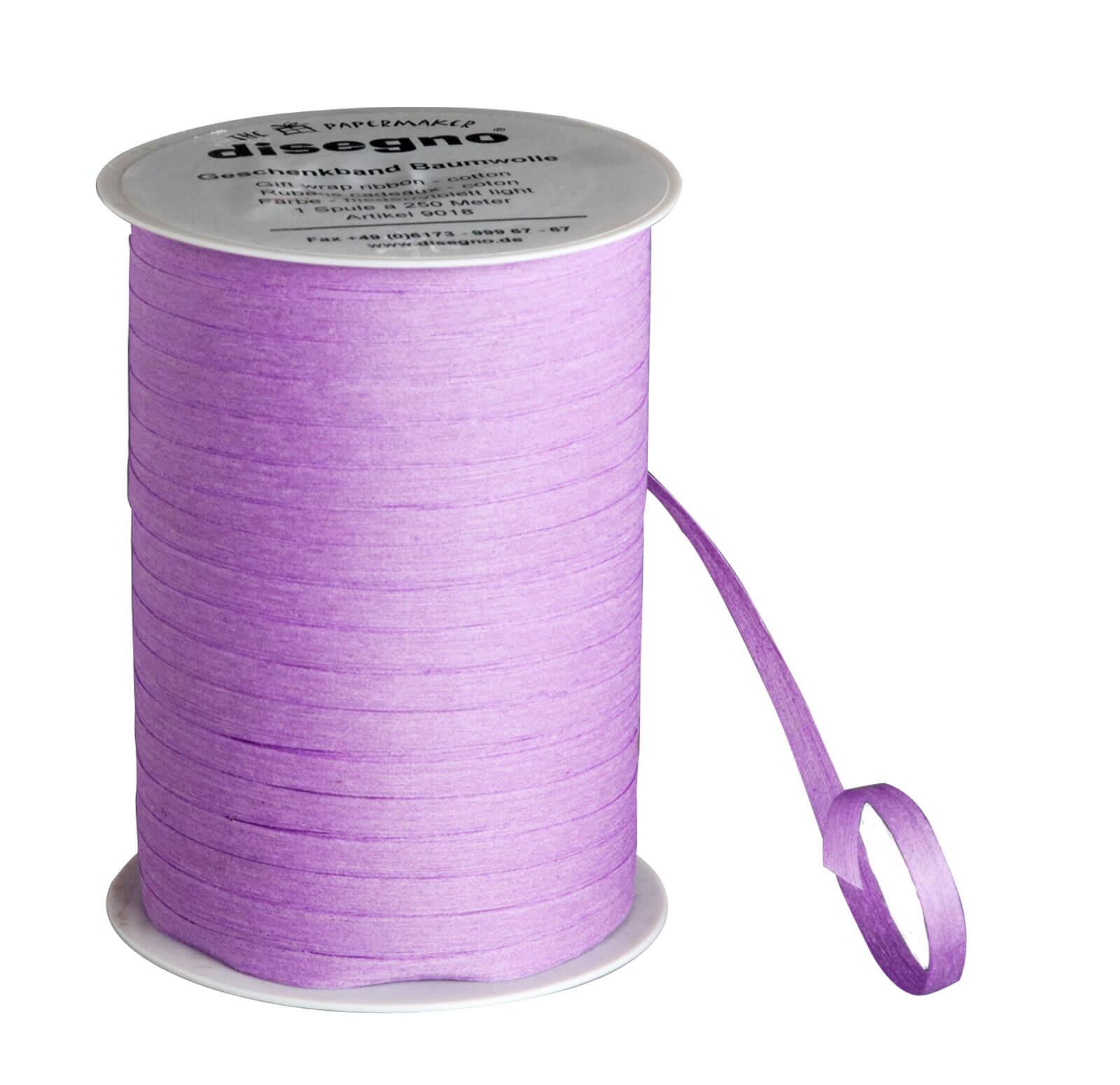 Geschenkband Baumwolle - flieder