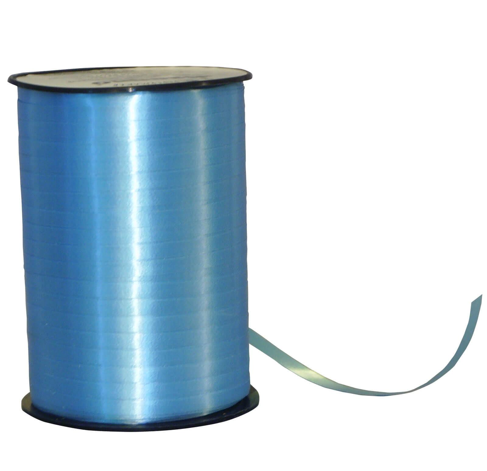 Geschenkband Poly hell-blau