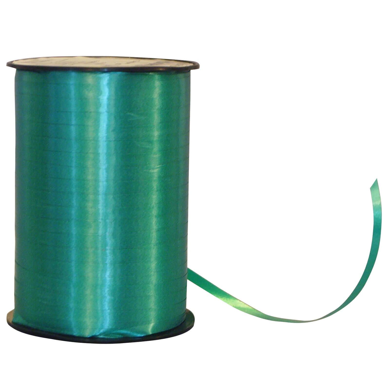Geschenkband Poly mittel-grün