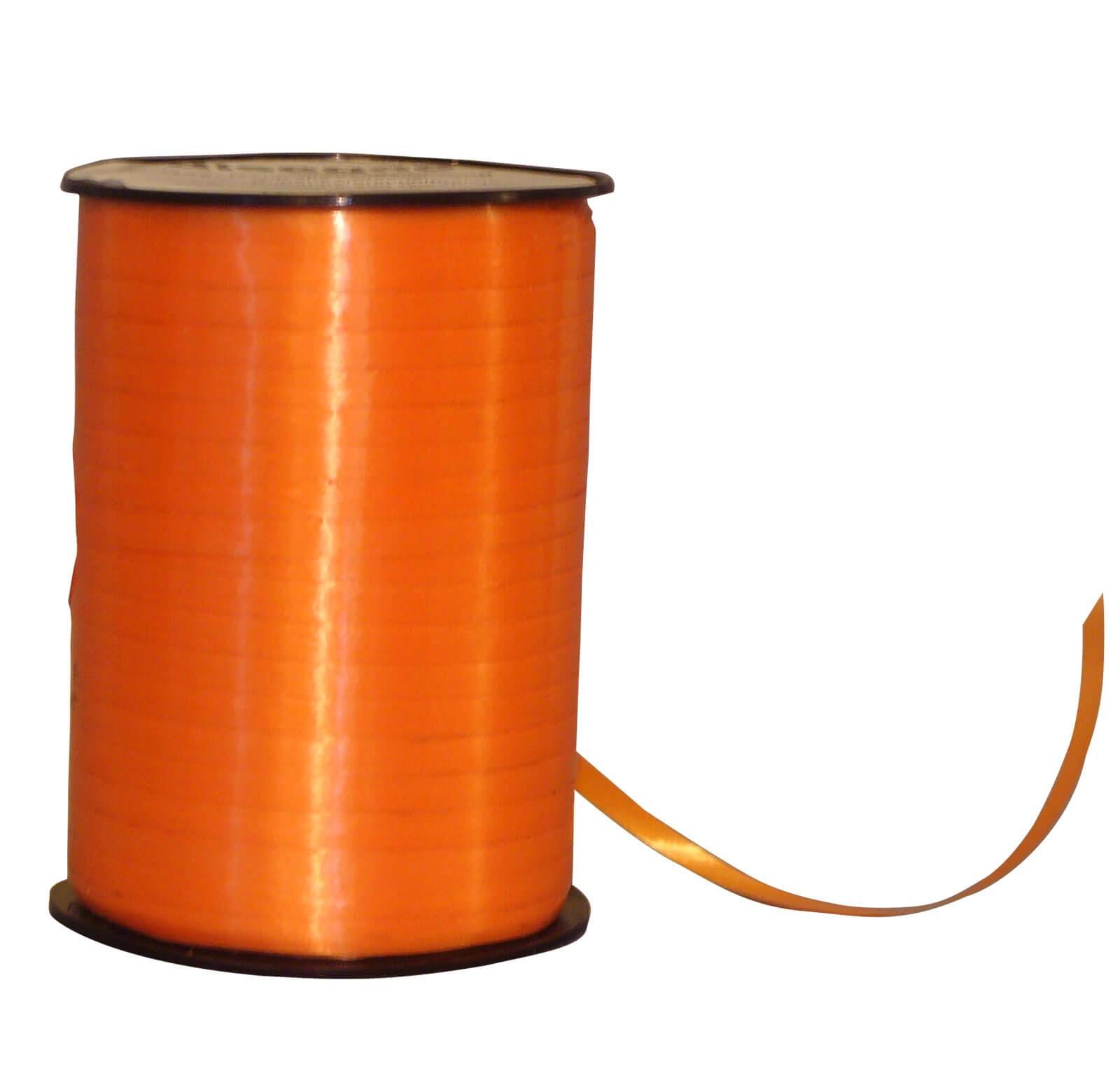 Geschenkband Poly orange