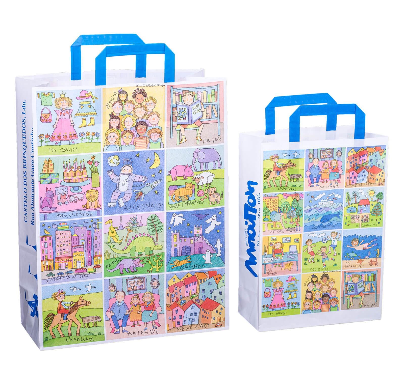 Papier Tragetasche Maxi (XL)