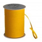 Geschenkband Baumwolle gelb