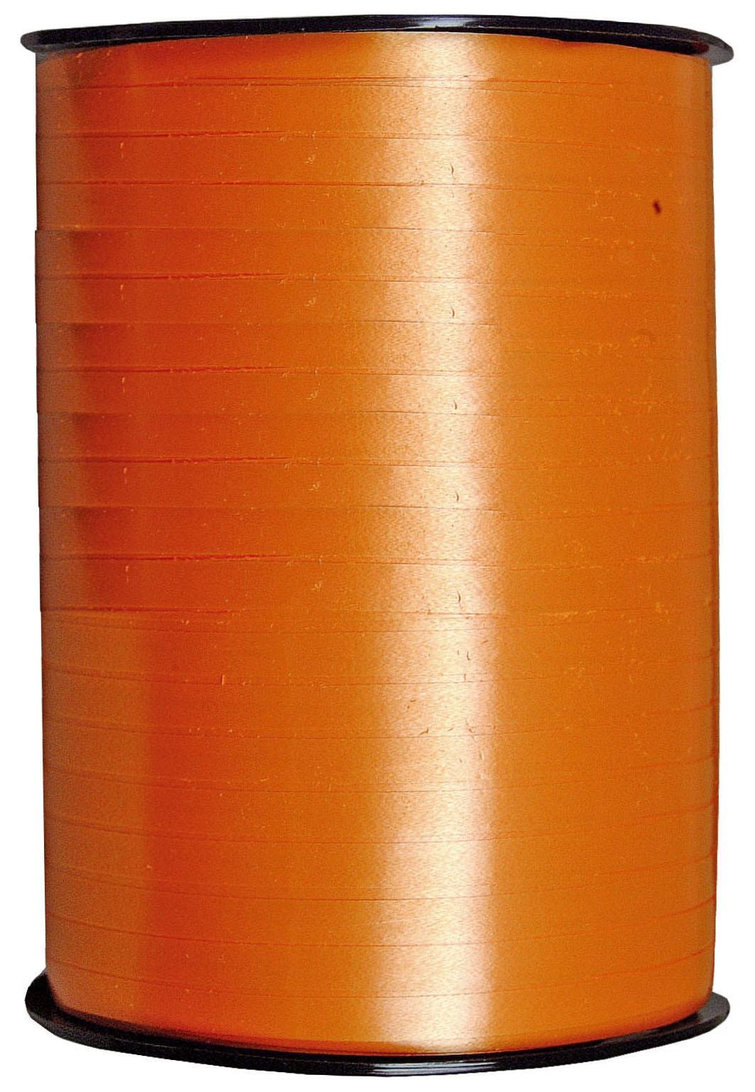 Gift ribbon poly - orange