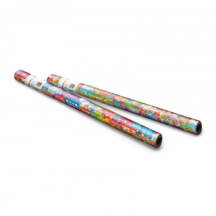 Consumer giftwrap rolls