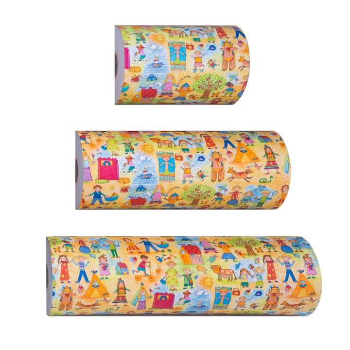 Counter rolls giftwrap