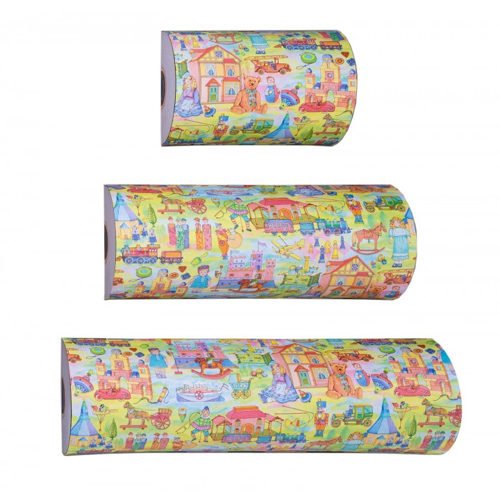 Giftwrap counter rolls