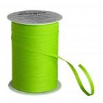 Gift ribbon cotton - apple green