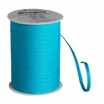 Gift ribbon cotton - turquoise