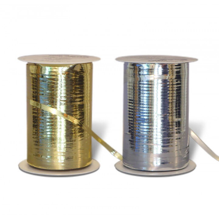 Ruban cadeau métallique