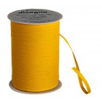 Ruban cadeau coton - jaune