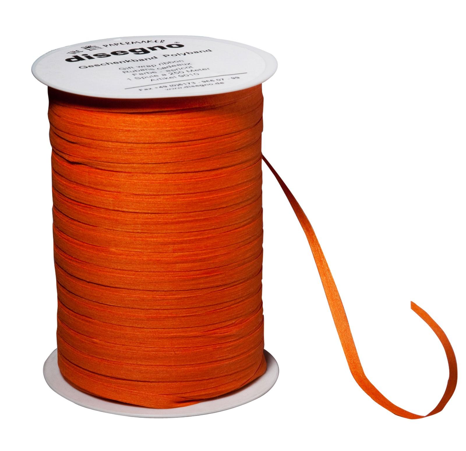 Nastro regalo cotone - arancione
