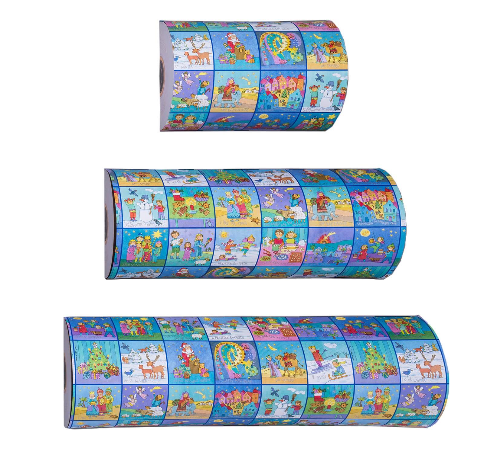 Papel de regalo rollo (30cm)