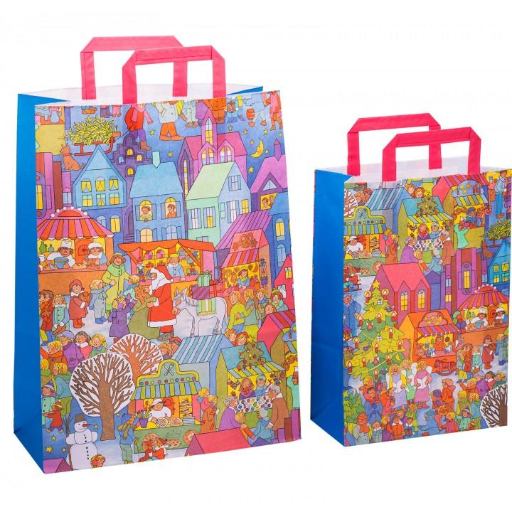 Bolsas de la compra de papel