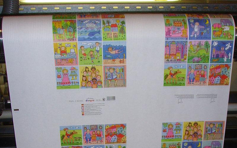 Herstellung disegno Geschenkpapiere