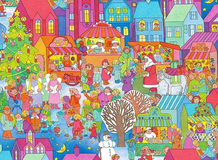 Neues Motiv Weihnachtsmarkt