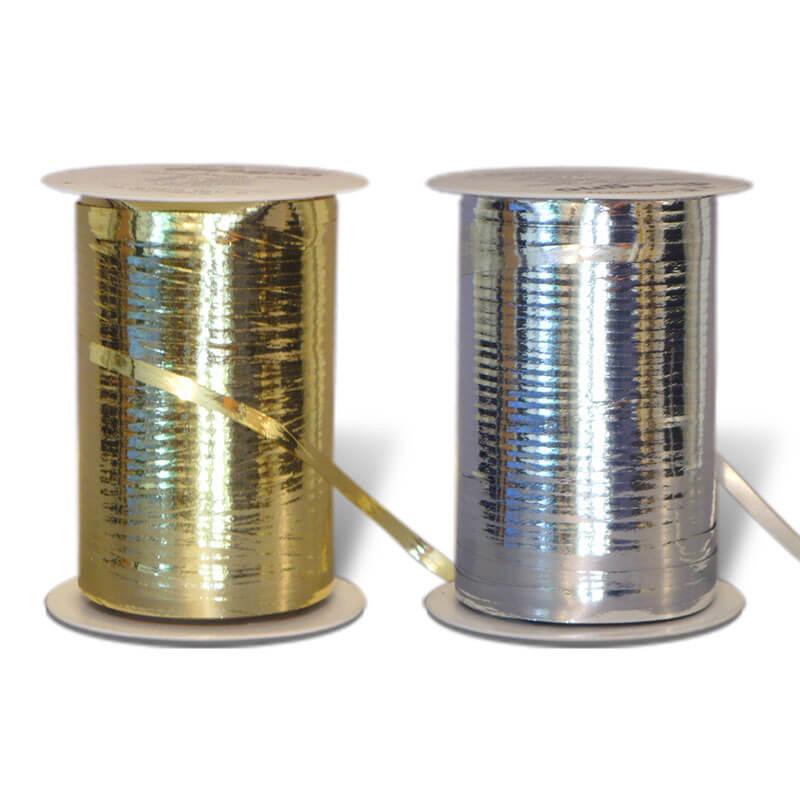 Geschenkband Metallic